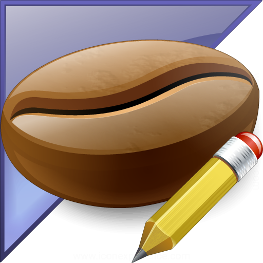 Coffee Bean Enterprise Edit Icon