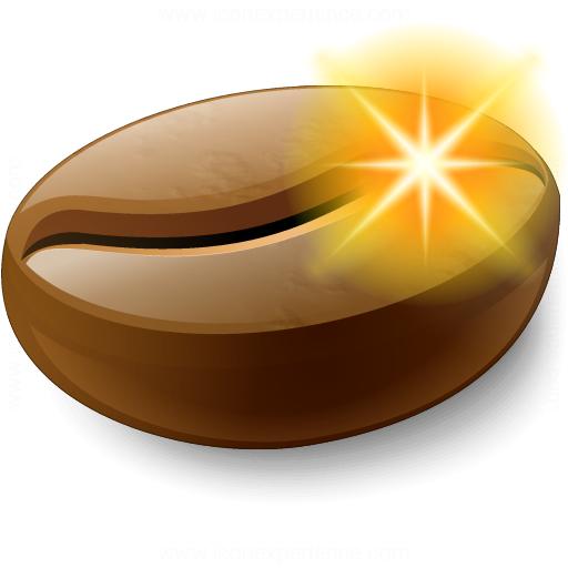 Coffee Bean New Icon