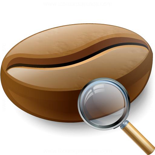 Coffee Bean View Icon