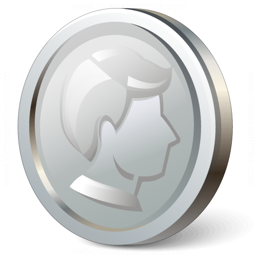 Coin Silver Icon