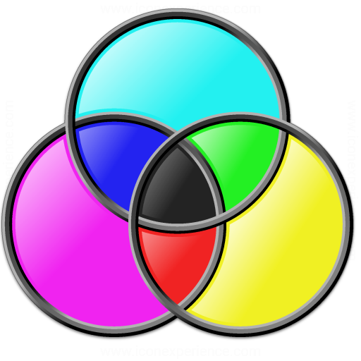 Colors Cmyk Icon