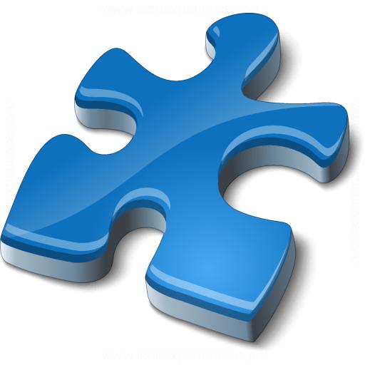 Component Blue Icon