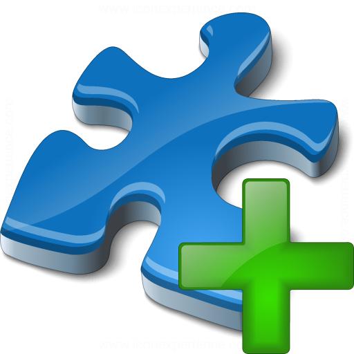 Component Blue Add Icon