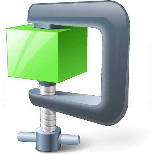 Compress Green Icon