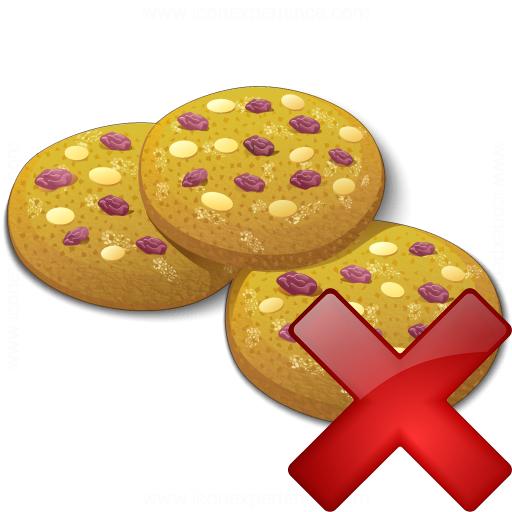 Cookies Delete Icon