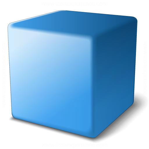 Cube Blue Icon