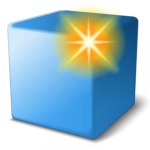 Cube Blue New Icon