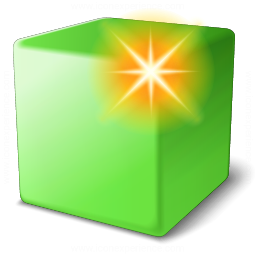 Cube Green New Icon