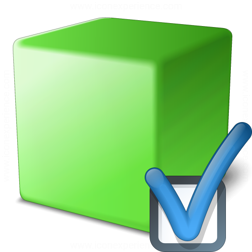 Cube Green Preferences Icon