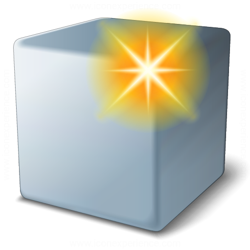 Cube Grey New Icon