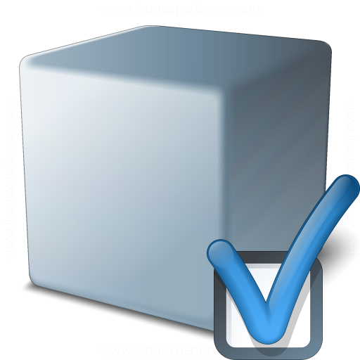Cube Grey Preferences Icon