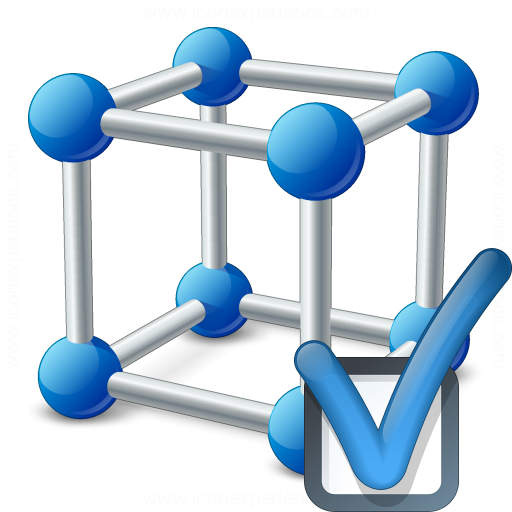 Cube Molecule Preferences Icon