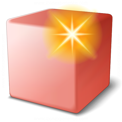 Cube Red New Icon