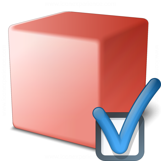 Cube Red Preferences Icon