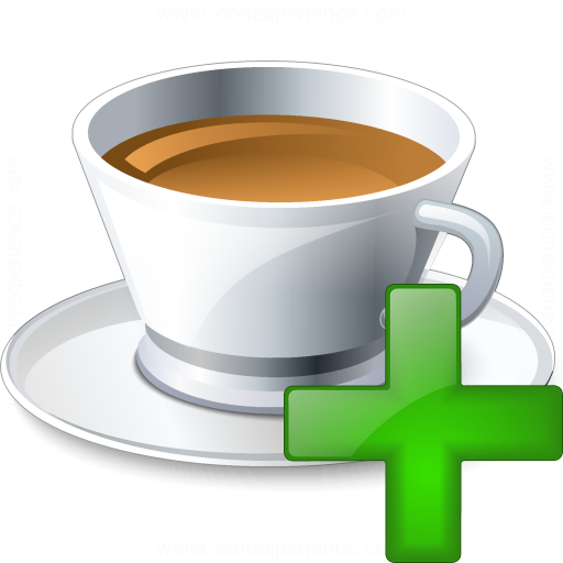 Cup Add Icon