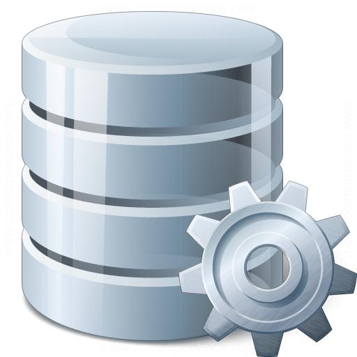 Data Gear Icon