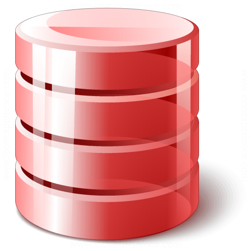 Data Red Icon