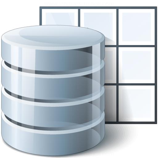 Data Table Icon