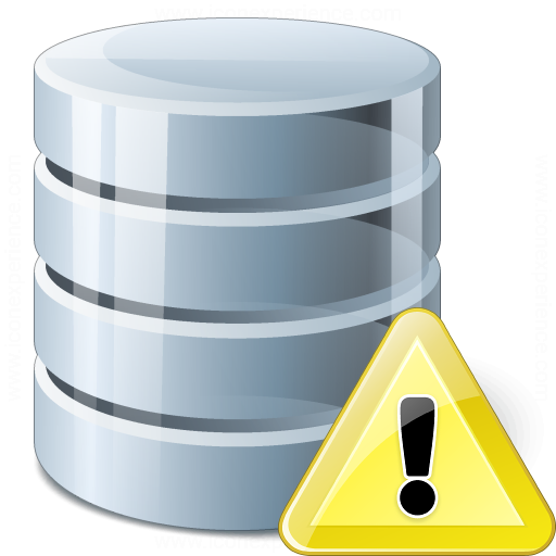 Data Warning Icon