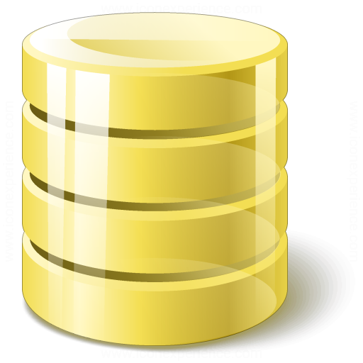 Data Yellow Icon