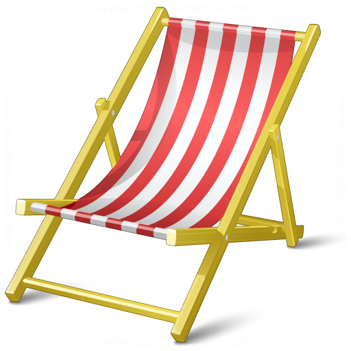 Deck Chair Icon