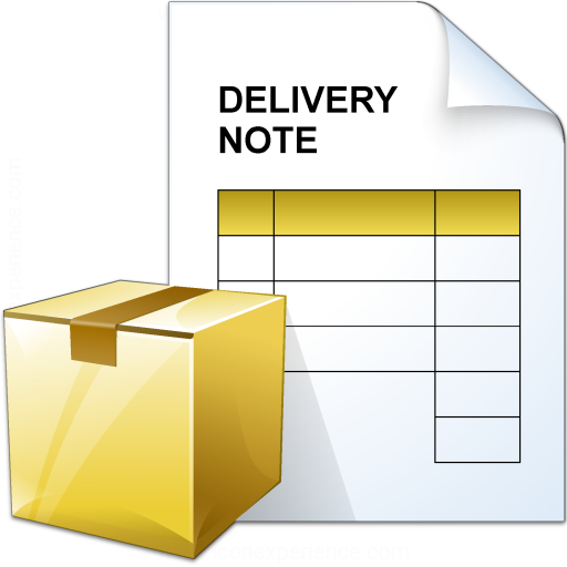 Delivery Note Icon