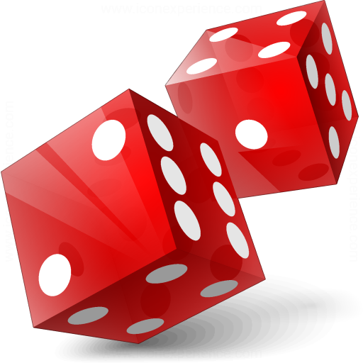 Dice Red Icon