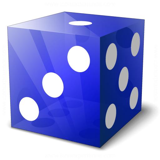 Die Blue Icon