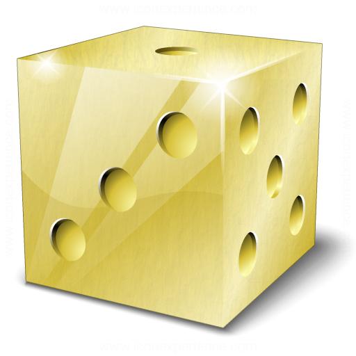 Die Gold Icon