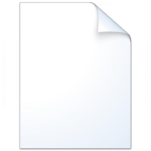 Document Plain Icon