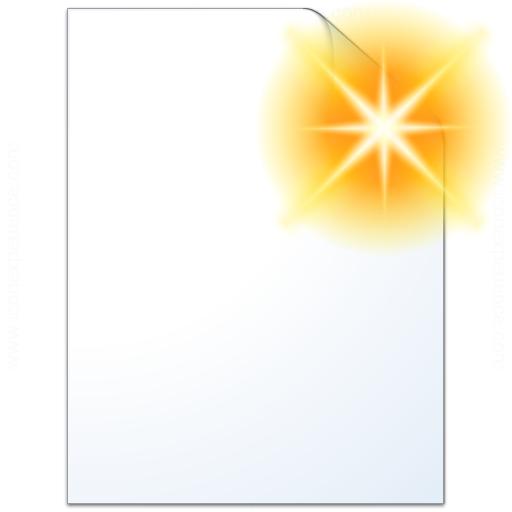 Document Plain New Icon