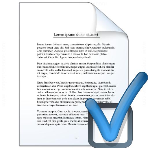 Document Preferences Icon
