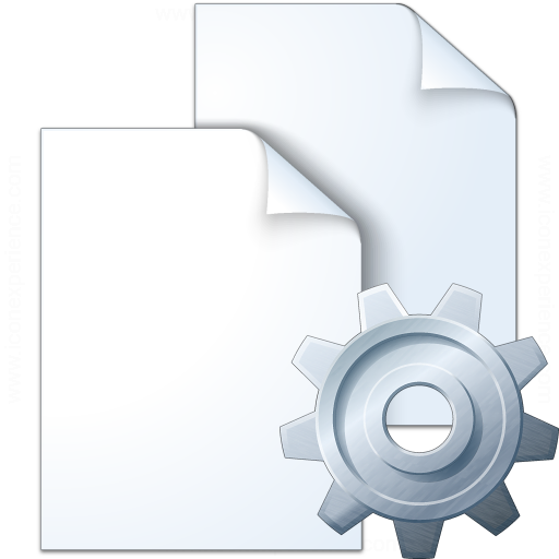Documents Gear Icon
