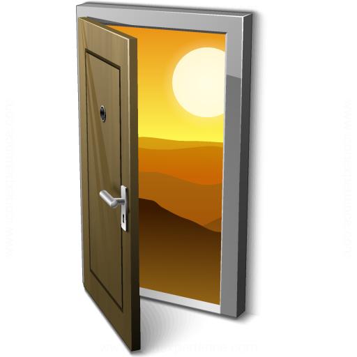 Door 2 Open Icon