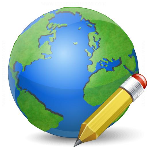 Earth Edit Icon