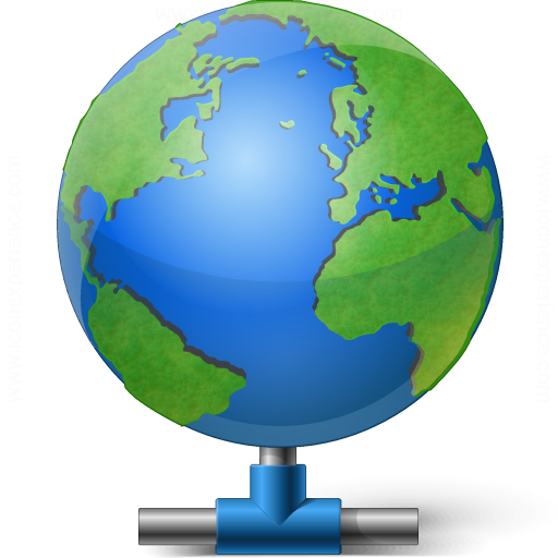 Earth Network Icon