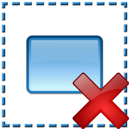 Element Selection Delete Icon