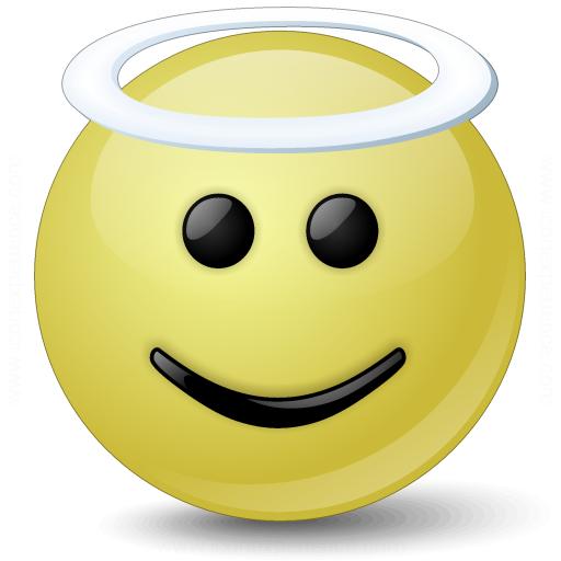 Emoticon Angel Icon