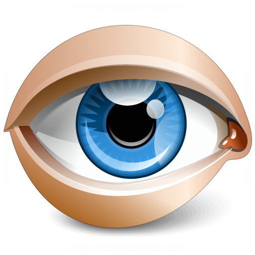 Eye Blue Icon