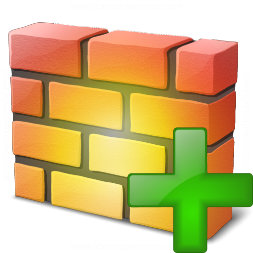 Firewall Add Icon