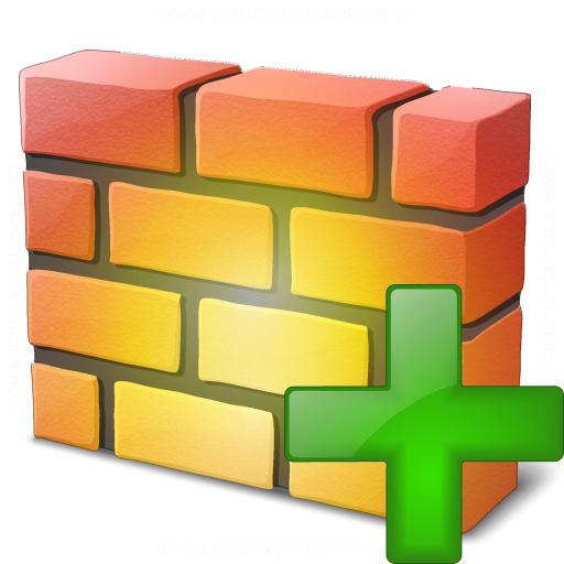 Firewall Add Icon