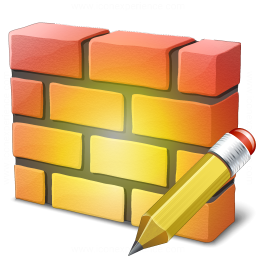 Firewall Edit Icon