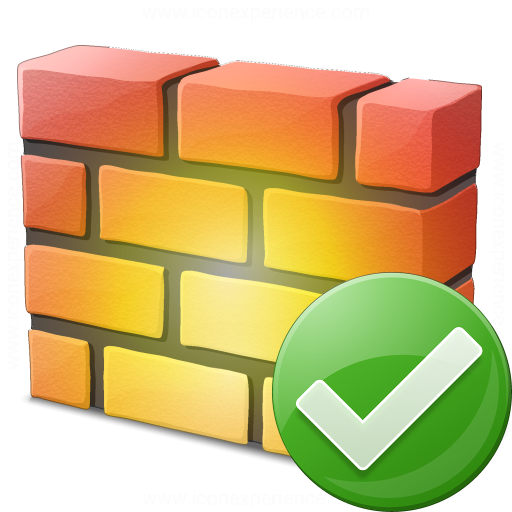 Firewall Ok Icon