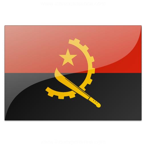 Flag Angola Icon