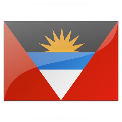Flag Antigua And Barbuda Icon