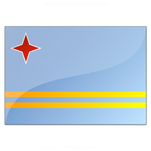 Flag Aruba Icon