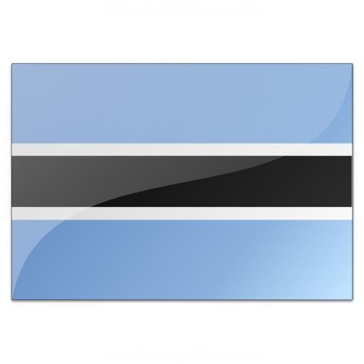 Flag Botswana Icon