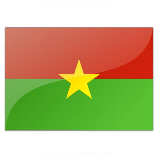 Flag Burkina Faso Icon
