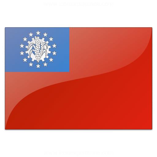 Flag Burma Icon