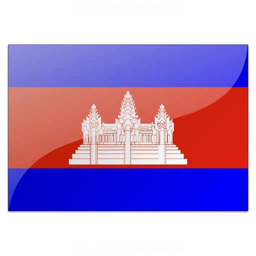 Flag Cambodia Icon